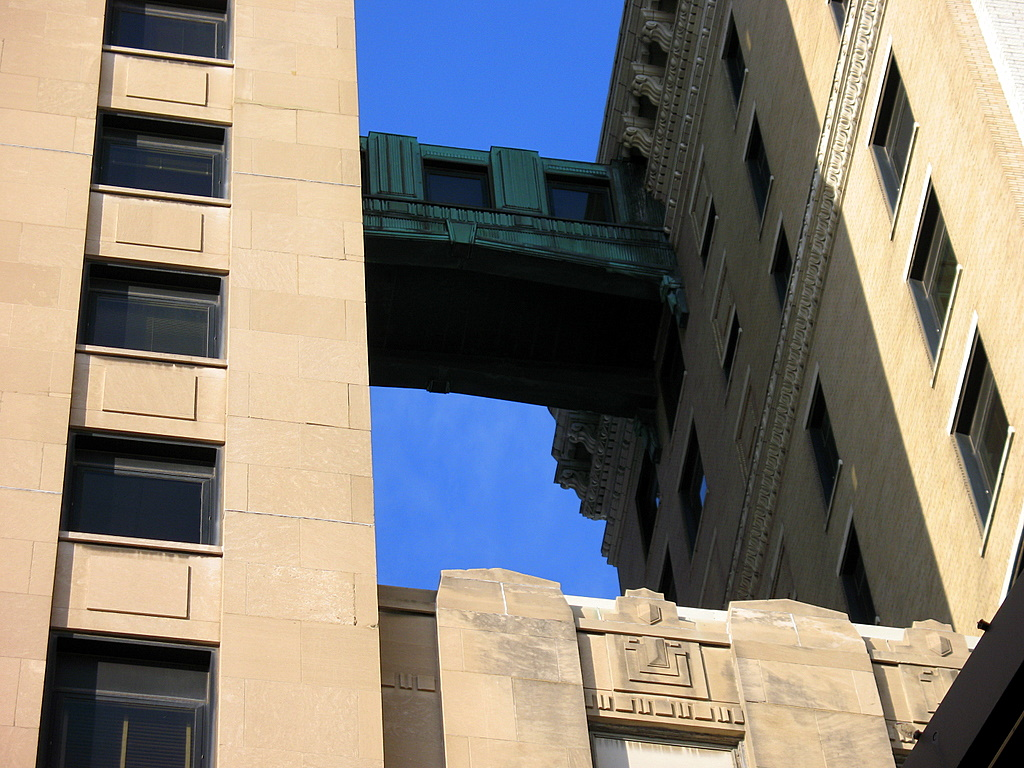 skyway on the first national bank building in St Paul