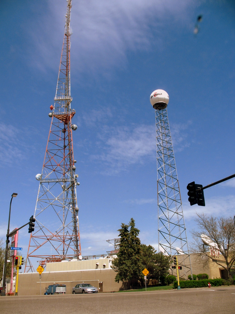 television antennas from a local TV studio, are you prepared for the digital television change?