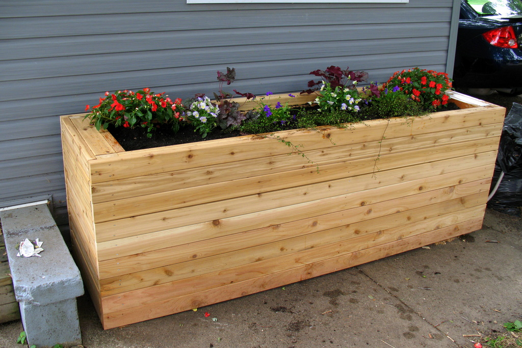 project working idea wooden flower boxes plans. Black Bedroom Furniture Sets. Home Design Ideas