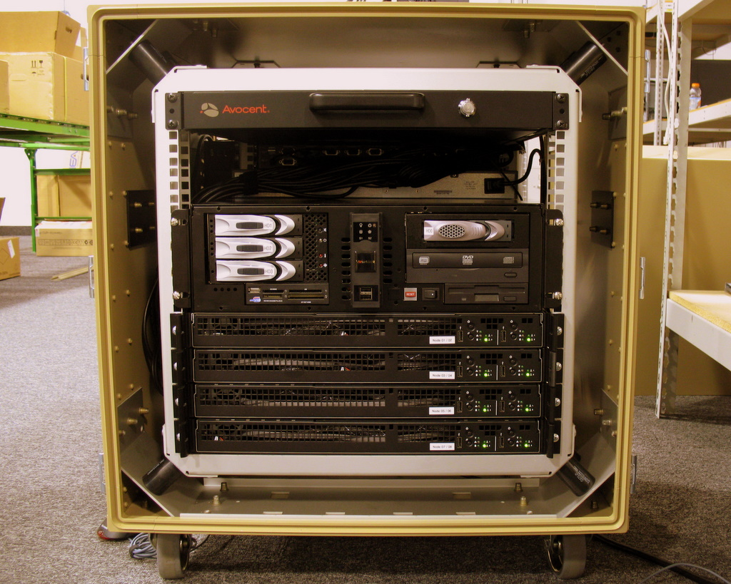 A photo of a portable cluster made in the Twin Cities.