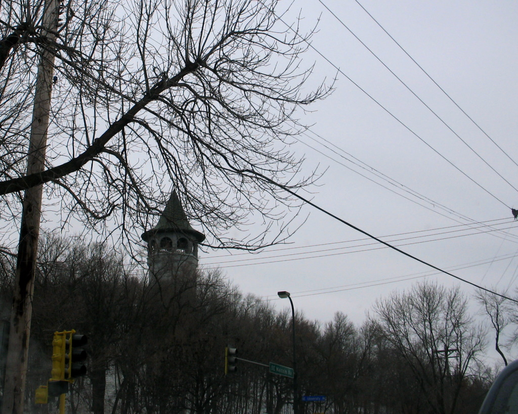 The 'witches tower' in prospect park or a really cool way to hide a water tower