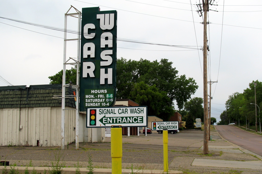 The Signal Car Wash in West St Paul is now closed.