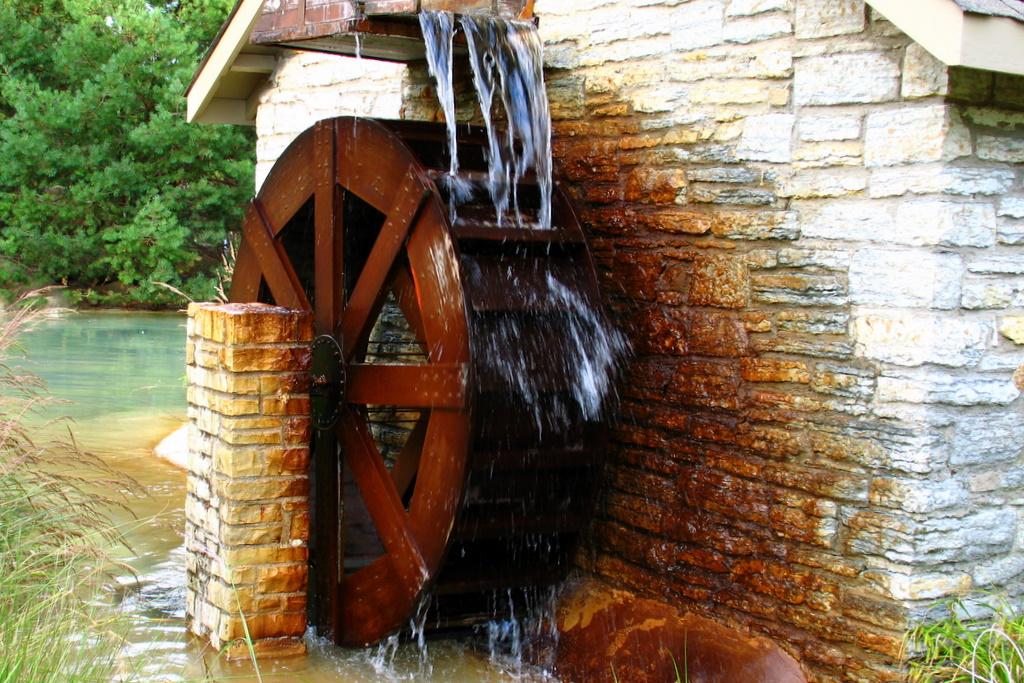 Marble Water Wheels : Waterwheel thinglink