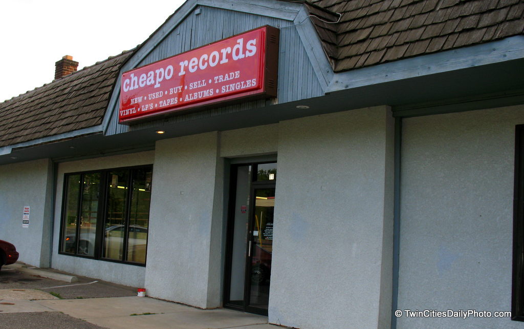 One of my favorite places growing up, back before CD's really flooded the stores shelves, one could purchase used albums from Cheapo Records.