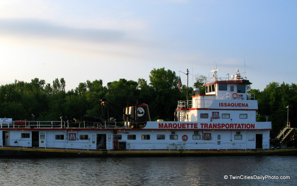 Issaquena County is located in the state of Mississippi....is this where this tugboat calls home?