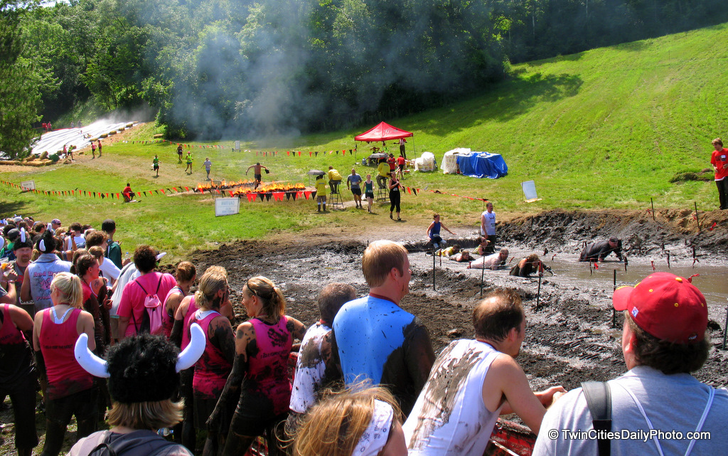 The warriors of the Twin Cites were out in full force Saturday and Sunday at Afton Alps participating in the Warrior Dash.