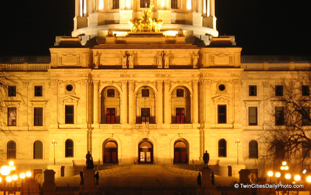 So, here is a snapshot of the Capital building of Minnesota.