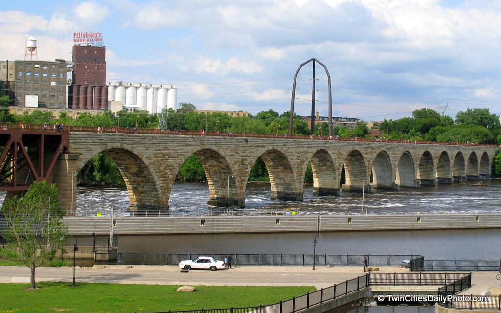 Stone Arch Bridge Design New Minneapolis...